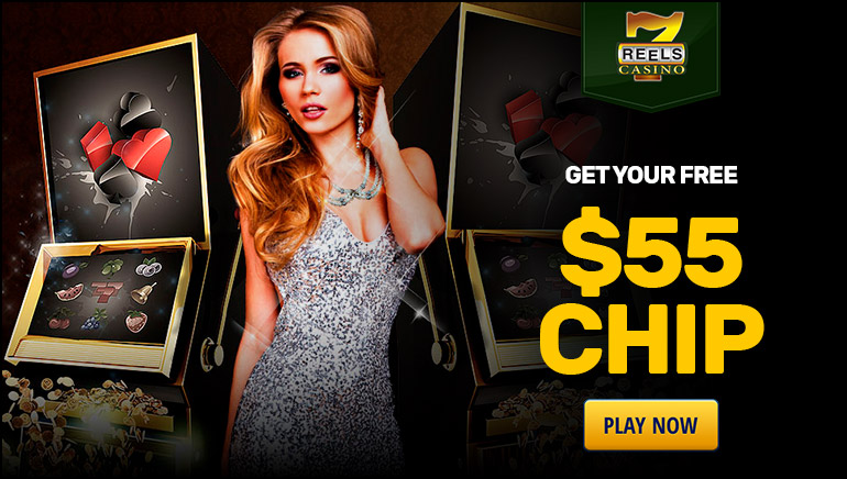 Claim Your $55 free chip at 7Reels Casino