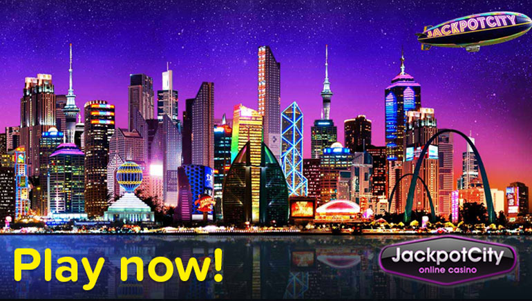 Enjoy Jackpot City Casino's Whooping Welcome Bonus