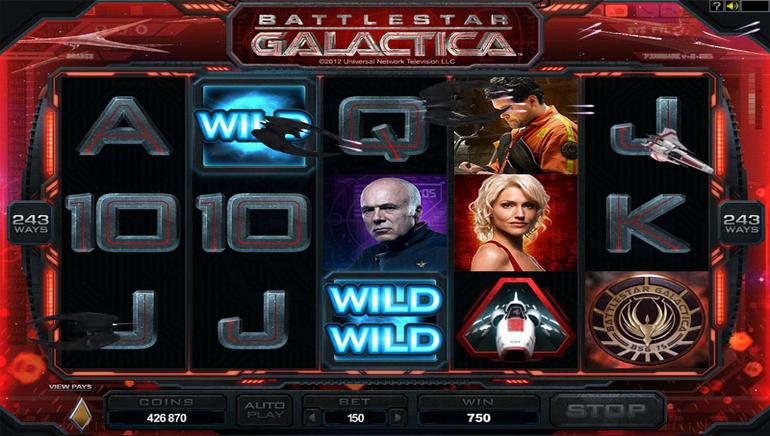 Battlestar Galactica Ships in to Casino La Vida