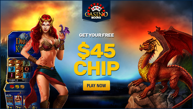 Casino Moons Giving Out $45 Free Bonus Chip