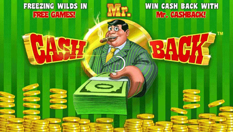 Win Back Cash with Mr. Cashback Slot