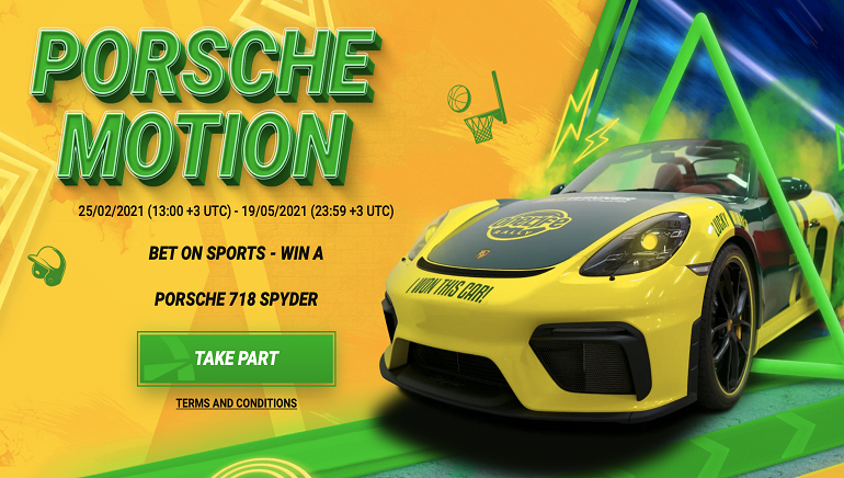 Betwinner Giving Away Brand New Porsche 718 Spyder in Big Lottery Draw