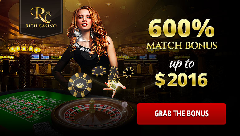 Rich Casino Makes an Irresistible Proposition to New Members